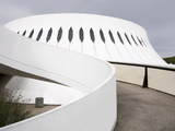 The Volcan Cultural Centre Designed By Oscar Niemeyer  Le Havre  Normandy  France  Europe