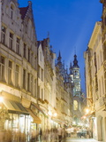 Street Near the Grand Place  Brussels  Belgium  Europe
