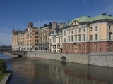 Waterside Buildings at Stromgatan  Stockholm  Sweden  Scandinavia  Europe