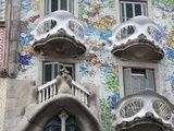 Casa Batllo By Gaudi  Barcelona  Catalonia  Spain  Europe