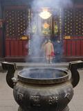 Wenshu Temple Monastery  Chengdu  Sichuan  China  Asia