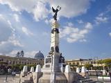 Monument in Parque Libertad  San Salvador  El Salvador  Central America