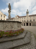 Palace of St Emmeram  Castle of Thurn and Taxis  Regensburg  Bavaria  Germany