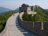 The Great Wall of China at Badaling  China  Asia
