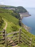Lynmouth  Exmoor National Park  Somerset  England  United Kingdom  Europe