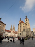Neupfarrkirche  Regensburg  Bavaria  Germany  Europe