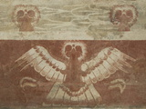 Mural in the Palace of Tetitla  Believed to Represent An Eagle  Arch Zone of Teotihuacan  Mexico