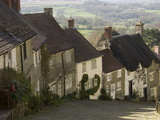 Gold Hill  Shaftesbury  Wiltshire  England  United Kingdom  Europe