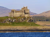 Duart Castle  Isle of Mull  Inner Hebrides  Scotland  Uk