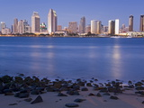 San Diego Skyline Viewed From Coronado Island  San Diego  California  USA