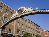 Gateway Arch in the Gaslamp Quarter  San Diego  California  United States of America  North America