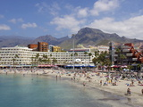Playa Torviscas  Playa De Las Americas  Tenerife  Canary Islands  Spain  Atlantic  Europe