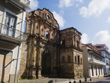 Church and Convent of the Compania De Jesus  Historical Old Town  Panama City  Panama