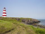 Brier Island Lighthouse  Nova Scotia  Canada  North America