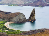 Pinnacle Rock  Isla Bartholome  Galapagos Islands  UNESCO World Heritage Site  Ecuador
