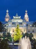 Monte Carlo Casino  Monte Carlo  Principality of Monaco  Cote D'Azur  Europe