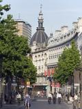 Meir Pedestrian Shopping Area  Antwerp  Flanders  Belgium  Europe
