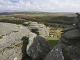 Tor  Dartmoor  Devon  England  United Kingdom  Europe