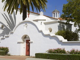 San Luis Rey Mission  Oceanside  California  USA