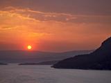 Sunrise Over St Mary Lake  Glacier National Park  Montana  USA