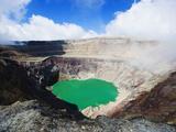 Crater Lake of Volcan Santa Ana  2365M  Parque Nacional Los Volcanes  El Salvador  Central America
