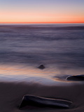Beach at Sunset in La Jolla  San Diego County  California  United States of America  North America