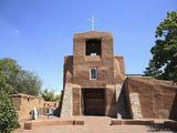 San Miguel Mission Church  Oldest Church in the United States  Santa Fe  New Mexico