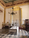Interior of the Palacio Brunet  Houses Museo Romantico  Trinidad  Cuba  West Indies  Caribbean