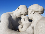 Parent and Child  Stone Sculpture By Emanuel Vigeland  Vigeland Park  Oslo  Norway  Scandinavia