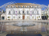 City Hall in 1St May Square  Portimao  Algarve  Portugal  Europe
