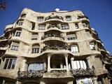 Casa Mila  Barcelona  Catalonia  Spain  Europe