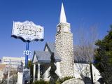 Graceland Wedding Chapel  Las Vegas  Nevada  United States of America  North America