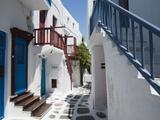Mykonos Town  Chora  Mykonos  Cyclades  Greek Islands  Greece  Europe