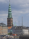 View Along the Fr Holmes Canal  Copenhagen  Denmark  Scandinavia  Europe