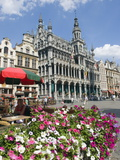 Guildhalls in the Grand Place  UNESCO World Heritage Site  Brussels  Belgium  Europe