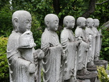 Jizo Looks After the Souls of Dead Children  Tokyo  Japan  Asia