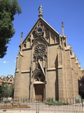 Loretto Chapel  Santa Fe  New Mexico  United States of America  North America