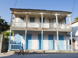House in the Historic Colonial Old Town  Jacmel  Haiti  West Indies  Caribbean  Central America