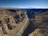 Rio Grande Gorge Bridge Near Taos  New Mexico  United States of America  North America