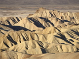 Badlands at Zabriskie Point  Death Valley National Park  California  USA
