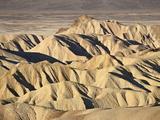 Badlands at Zabriskie Point  Death Valley National Park  California  USA