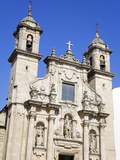 San Jorge Church  La Coruna City  Galicia  Spain  Europe