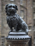 Greyfriars Bobby  Edinburgh  Lothian  Scotland  Uk
