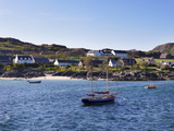 Small Boats  Isle of Iona  Inner Hebrides  Scotland  Uk
