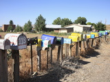 Rural Mailboxes  Galisteo  New Mexico  United States of America  North America