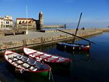 Collioure  Languedoc Roussillon  Cote Vermeille  France  Mediterranean  Europe