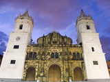 Cathedral  Historical Old Town  UNESCO World Heritage Site  Panama City  Panama  Central America