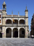 Town Hall  Plaza Mayor  Plasencias  Extremadura  Spain  Europe