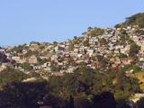 Hillside Suburbs of Tegucigalpa  Honduras  Central America