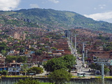 Metrocable Gondola  Medellin  Colombia  South America